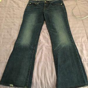 GUC Tory Burch classic bootcut jeans.